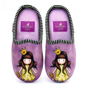 Santoro-paidikes-pantofles-koritsi-xeimerines-mov-Princesses-SA93608C-FW20_