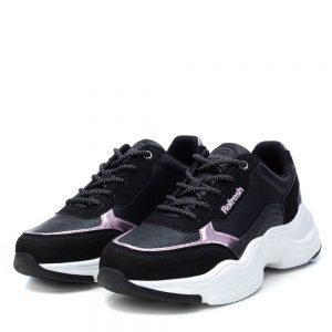 Xti-athlitiko-casual-sneakers-koritsi-mavro-72561-Negro-FW20