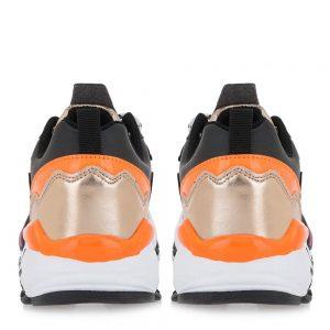 exe KIDS spor sneaker mavro black orange gold FW21 LA51Y4542001