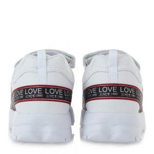 exe Kids spor sneaker white lefko FW21 LA32R1832651
